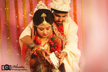 Traditional Bengali Wedding Photo